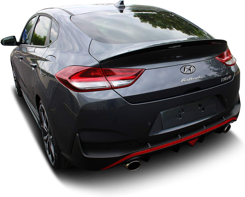 Original oem emblem hyundai i30 n fastback hatchback lacquered glossy black logo