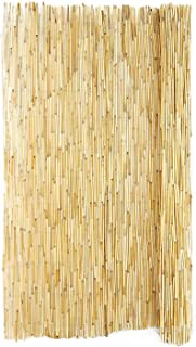 Peeled Reed Fencing, 6ft H x 16ft L