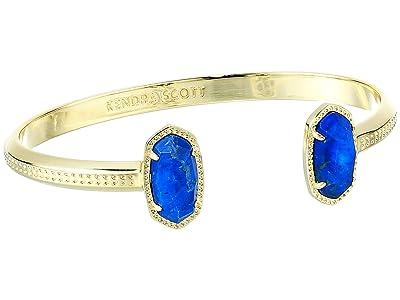 Kendra Scott Elton Bracelet (Gold Cobalt Howlite) Bracelet