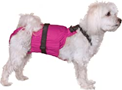 Dog Diaper Wrap SMALL PINK