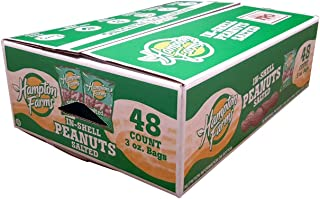 Hampton Farms In-Shell Peanuts (3 oz, 48 ct.)