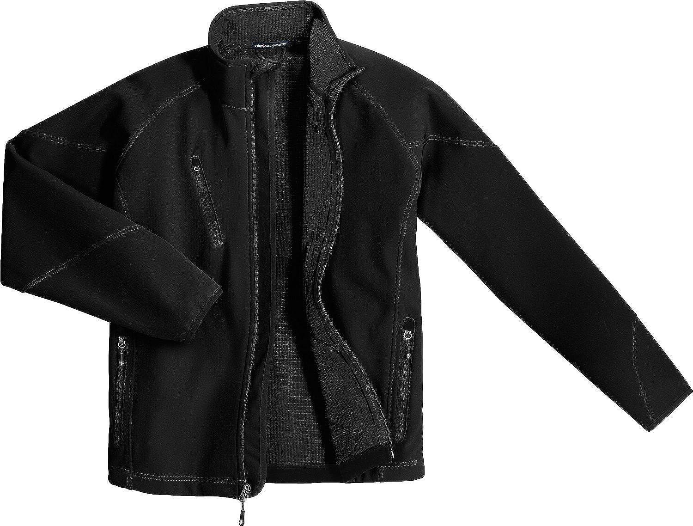 Port Authority Tall Textured Soft Shell Jacket, Black, 4XLT