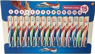 アクアフレッシュ Aquafresh ハブラシ 15本
