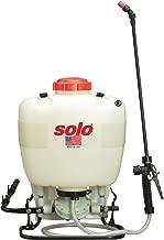 Solo 475-B Diaphragm Pump Backpack Sprayer, 4-Gallon, Bleach Resistant Pump Assembly