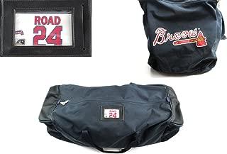 Evan Gattis Game Used Atlanta Braves Road Equipment Bag