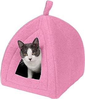 سرير للقطط من فرهافن بت- سرير حيوانات اليفة مهدئ للقطط، خيمة للقطط والكلاب الصغيرة- متوفر بعدة انماط والوان قياس واحد 9220...