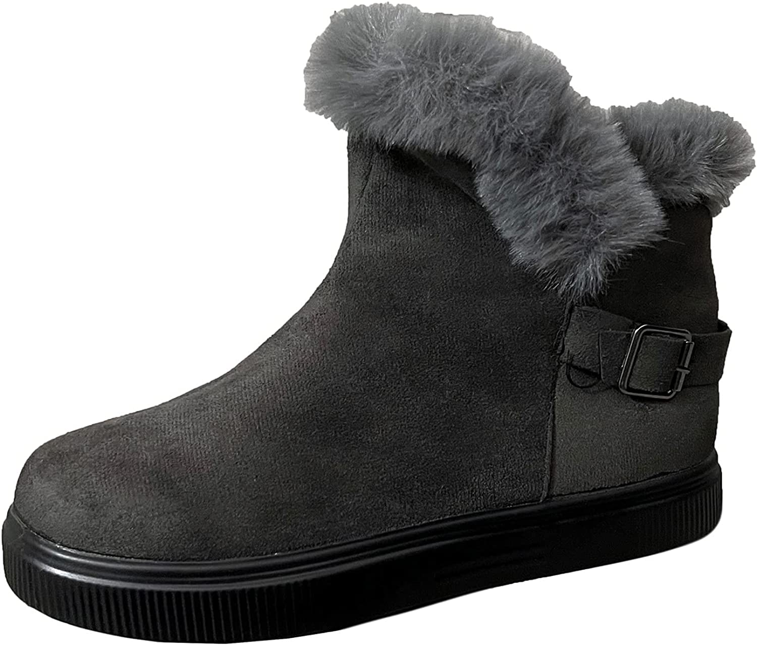 Boots for Women Casual Shoes Breathable Slip-on Wedges Platform
