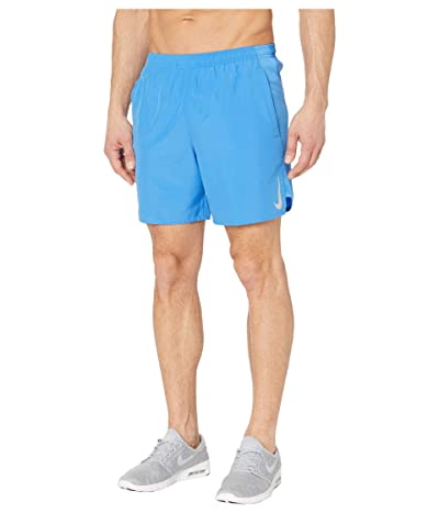Nike Challenger Shorts 7 BF (Pacific Blue/Reflective Silver) Men