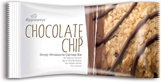 Appleways 2.4 oz Simply Wholesome Oatmeal Bars, Chocolate Chip, 160 ct