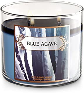 Bath and Body Works  3-Wick Scented Candle Blue Agave 14.5 Ounce