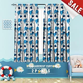 Big datastore home Kids Curtain, Assistant Business Businesswoman Call Center Communication Consultant Contact Customer Female Girl 108 x 72 inch Room Darkening Blackout Drapes