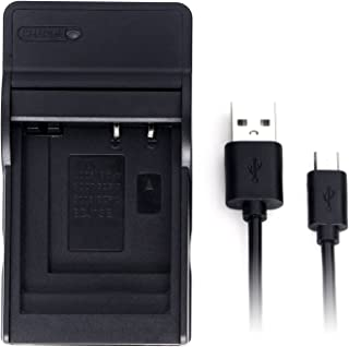 CGA-S008A Ultra Slim USB Charger for Panasonic DMC-FS20, DMC-FS5, HM-TA1, SDR-S26, Lumix DMC-FS3, DMC-FX30, DMC-FX33, DMC-FX35, DMC-FX36, DMC-FX37, DMC-FX38, DMC-FX500, DMC-FX520, DMC-FX55 and More