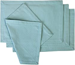 Cotton Placemats Teal 4/pack