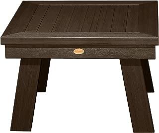 Highwood AD-DSST1-ACE Adirondack Side Table, Weathered Acorn