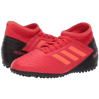 adidas Kids Predator 19.3 TF Soccer (Little Kid/Big Kid) (Active Red/Solar Red/Black) Kids Shoes