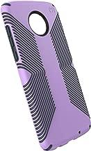 Speck Products Moto Z3 Next Gen Case, Presidio Grip, Jelly Purple/Charcoal Grey (Renewed)