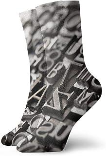 Hunter qiang, Plantilla para calcetines, texto en alemán