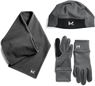 Mission Men's Radiantactive Performance Beanie/Scarf/Glove Set