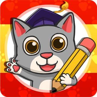 Fun Spanish: 学西班牙语 - 学习读、说和拼写。 儿童学语言游戏。 3-10岁儿童.