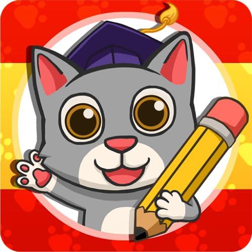 Fun Spanish: Spanisch lernen - Sprach lernspiele für Kinder von 3 bis 10