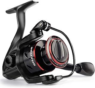 KastKing Brutus Spinning Reel, Freshwater Spinning Fishing Reels, Graphite Frame, CNC Aluminum Spool, 5.0:1 Gear Ratio, 4+...