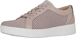 FitFlop Women's Venus Tennis Sneaker-Leather Trainers