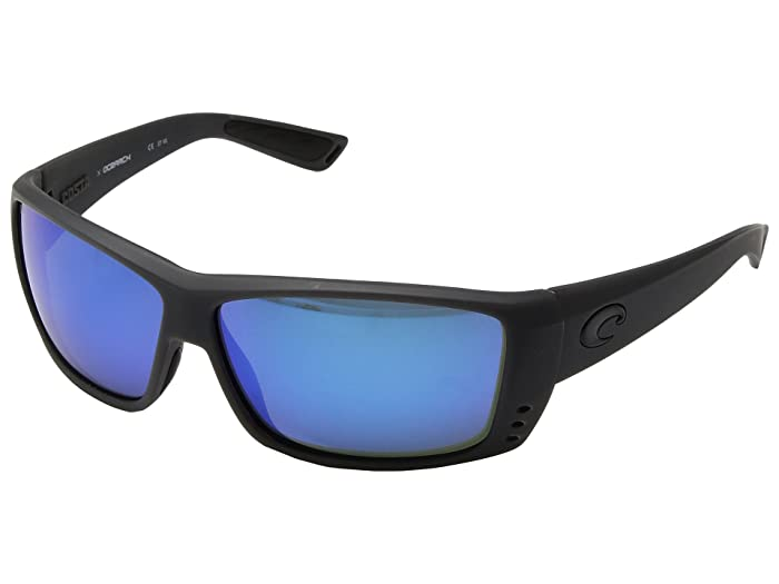 Costa  Cat Cay (Matte Gray Ocearch) Athletic Performance Sport Sunglasses