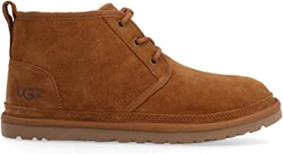 UGG Women's UGSNEUMCN1094269WCN Beige Suede Lace-Up Shoes