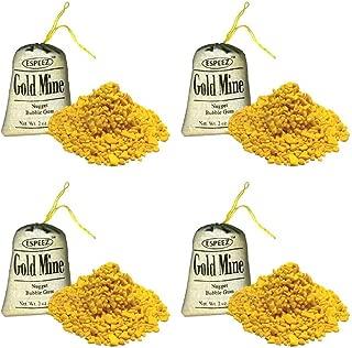 Gold Mine Bubble Gum Nuggets - 2 oz (24 pack)