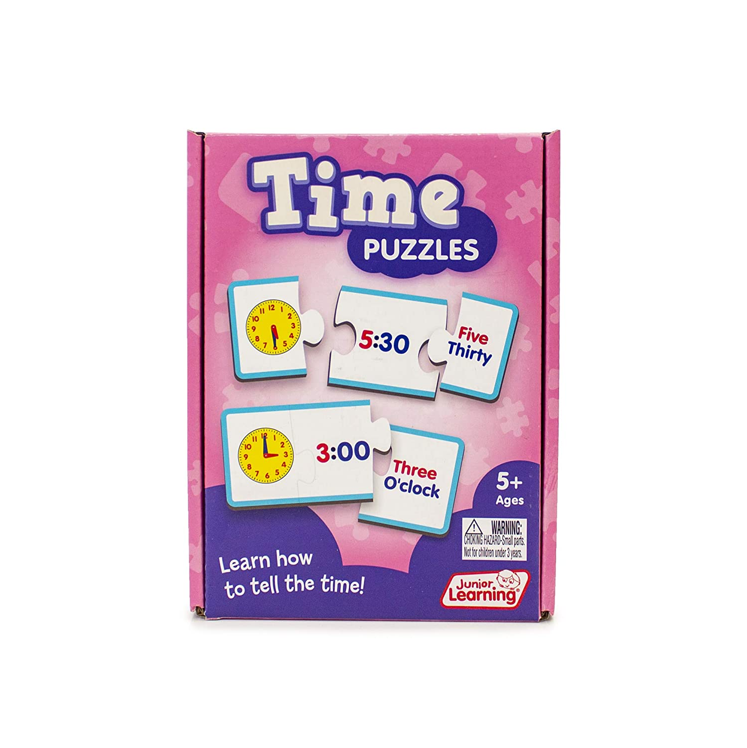 Junior Learning New arrival JL657 Rare Time Puzzles