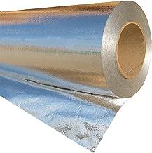 RadiantGUARD Ultima Solid Vapor Barrier Industrial Grade Sauna Hot Tub Jacuzzi 1000 sq ft roll   48-inch by 250-feet   U-1000-VB  Reflective Aluminum Radiant Foil Insulation Blocks 97% Heat