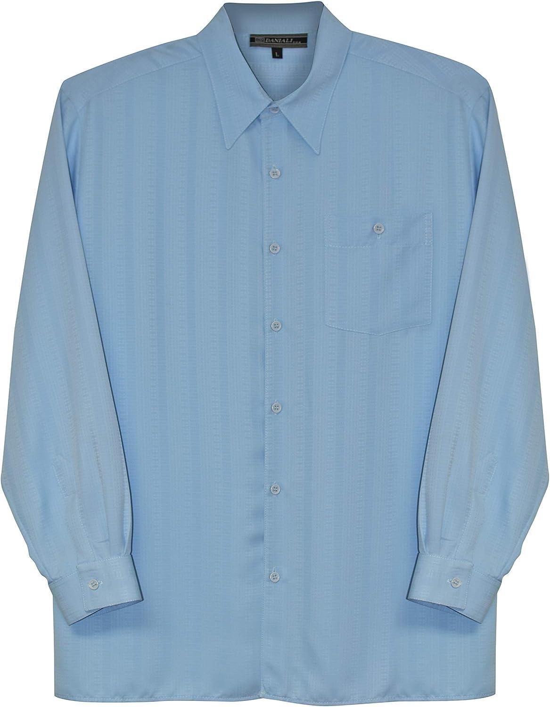 SHIRTS MADE IN USA Men's Big & Tall Dress Casual Shirt - Long Sleeve