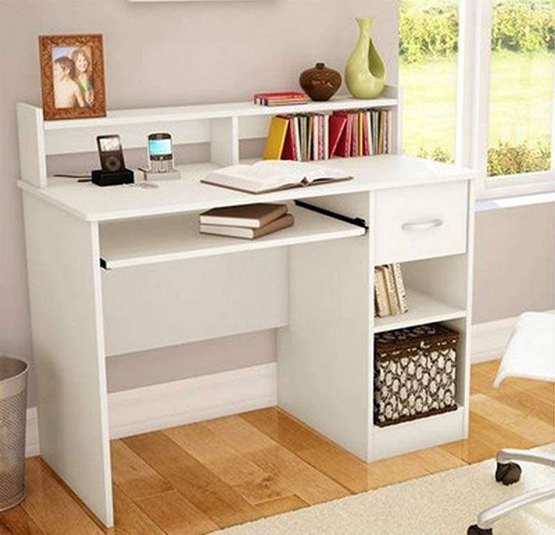 South Shore Study Table Desk Furniture White