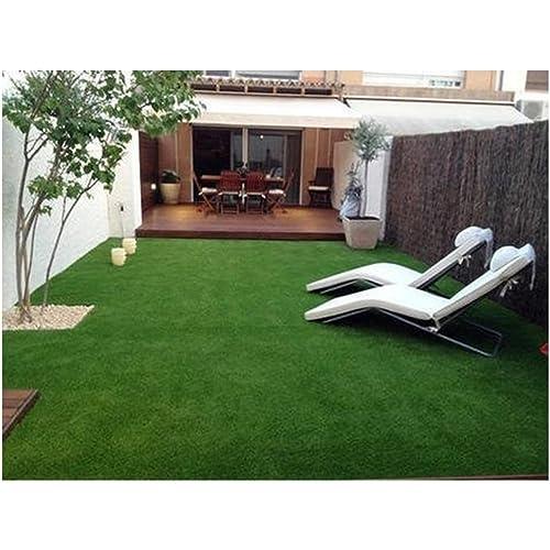 Yellow Weaves™ High Density Artificial Grass Carpet Mat for Balcony, Lawn, Door(6.5 X 2 Feet)