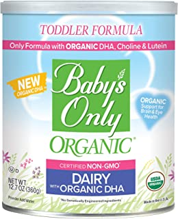 Best baby's only organic formula ingredients Reviews