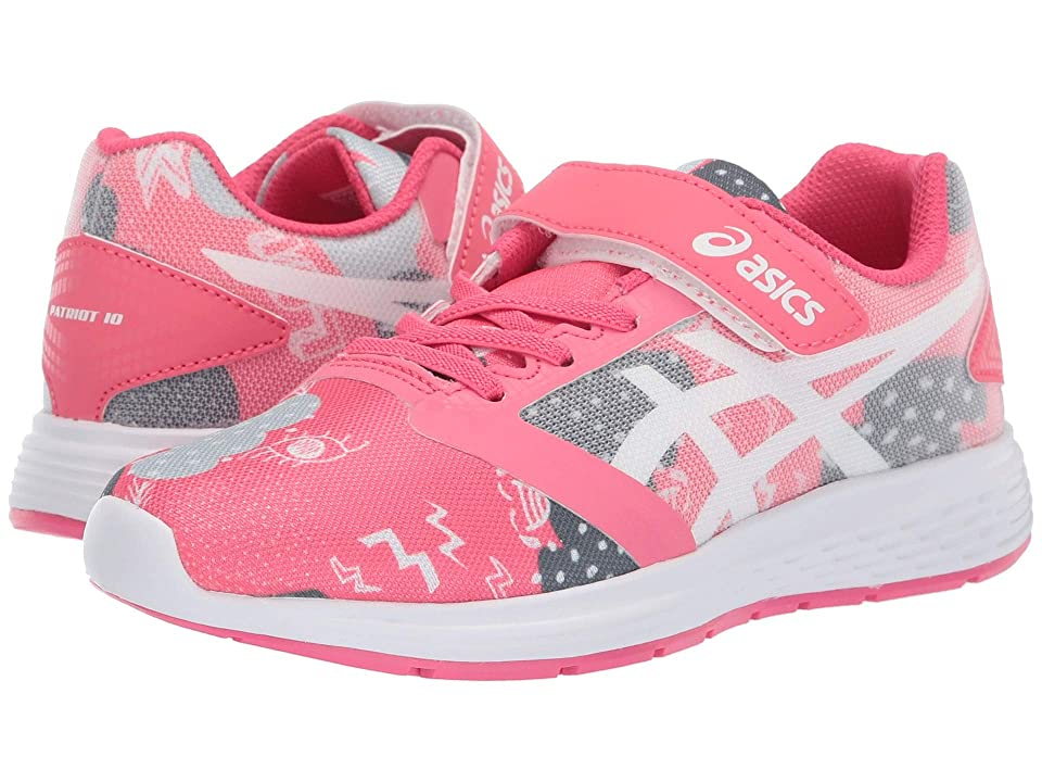 ASICS Kids Patriot 10 PS SP (Toddler/Little Kid) (Pink/Cameo White) Girls Shoes