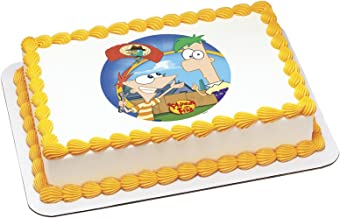 Deco Pac - Disney Phineas and Ferb Agent P Arrives Edible Icing Cake Topper