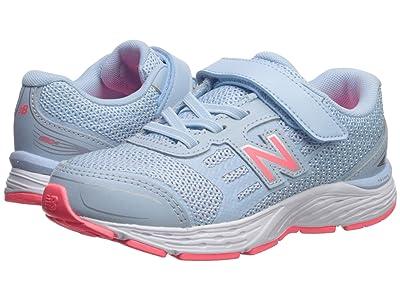New Balance Kids YA680v5 (Little Kid/Big Kid) (Air/Guava) Girls Shoes