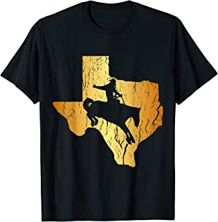 Horse Riding Cowboy Texas Rodeo Western Country Distressed T-Shirt