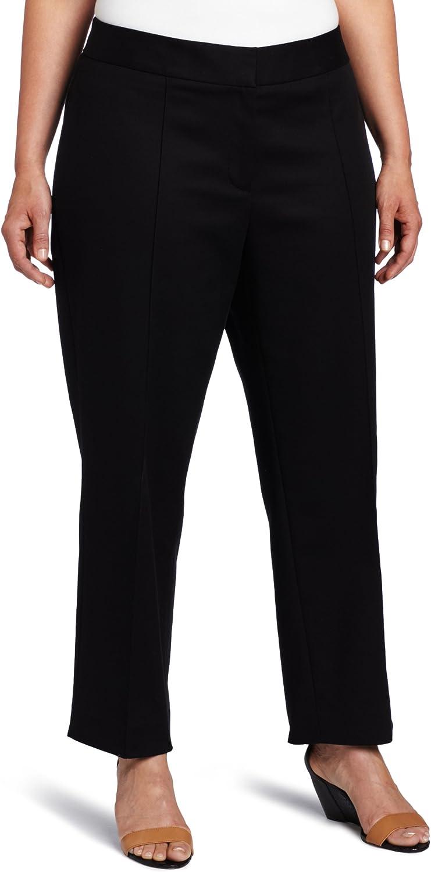 Anne Klein Women's Plus Size Slim Pant