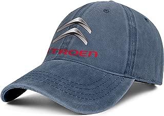 Women Men Baseball Cap Relaxed Messy Citroen-Car-Logo- Adjustable Sandwich Baseball Cap Cowboy Hat