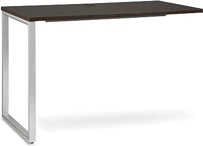OFM Core Collection Fulcrum Series 48x24 Return Desk, Office Desk Return, Espresso