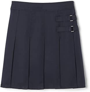 French Toast Girls` Two-Tab Pleated Scooter Skirt