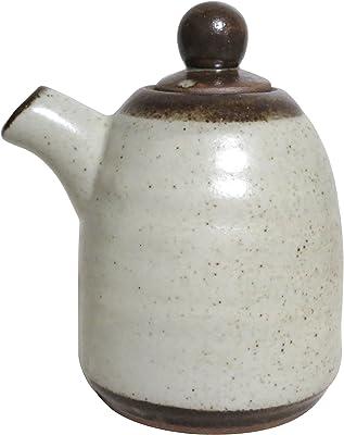 粉引唐津釉正油差し(大) (テ285-395)