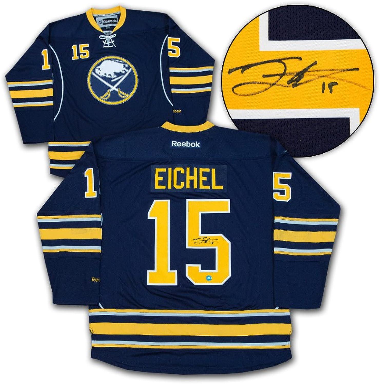 Jack Eichel Buffalo Sabres Autographed blueee Reebok Premier Hockey Jersey