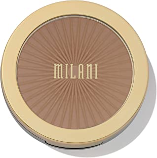 Milani Silky Matte Bronzing Powder - Sun Kissed (0.34 Ounce) Vegan, Cruelty-Free Bronzer - Shape & Contour Face with a Full Matte Finish