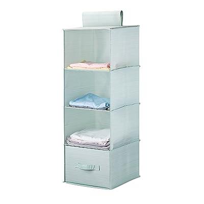 MEÉLIFE Collapsible 4-Shelf Hanging Shelves Cl...