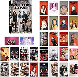 Umbrella+Hat+Bracelet+Photo Cards//Lomo Cards//Postcards+3D Stickers+Laptop Stickers+Button Pin+ID Card Badge Holder GOTH Perhk Kpop BTS /& Blackpink Gift Set Blackpink