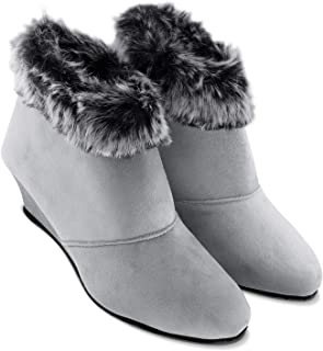 Cattz Ankle Length,High Ankle Length, Casual Boots, Ankle Length Boots for Women & Girls