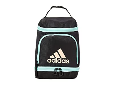 adidas Excel Lunch Bag (Black/Clear Mint/Glow Pink) Bags